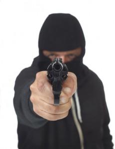 Gangster Überfall