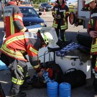 04-07-2016_A7_Woringen_motorrad-Gespann_Unfall-Feuerwehr_Poeppel_0008