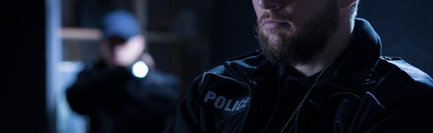 Polizist Waffe