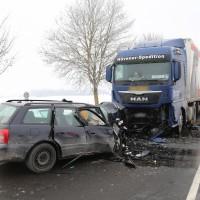 Unfall Frontal Biessenhofen tödlich LKW B16 Bringezu (3)
