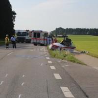 2017-07-19_B465_Leutkirch_Diepoldshofen_Unfall_DRK_Lkw_Feuerwehr_Poeppel-0027