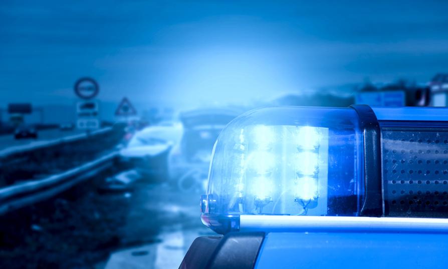 Blaulicht Polizei Unfall