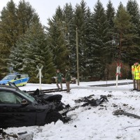 2018-01-19_Ostallgaeu_Fuessen_Bahnunfall_Pkw_Regionalbahn_Polizei_Poeppel20180119_0006