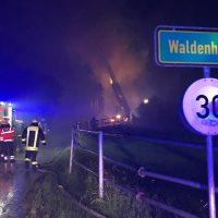 2018-05-30_Biberach_Waldenhofen_Dachstuhlbrand_Feuerwehr_0021