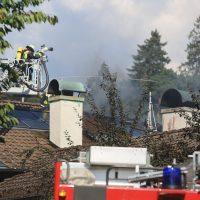 Weissenhorn Dachstuhlbrand