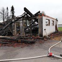 87674 Ruderatshofen, Poststr. 7 Brand einer landwirtschaftlichen Halle (10)
