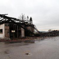 87674 Ruderatshofen, Poststr. 7 Brand einer landwirtschaftlichen Halle (4)