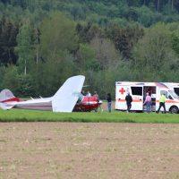 2019-05-25_Ravensburg_Unterzeil_Flugplatz_Flugunfall_Polizei_Poeppel20190525_0002