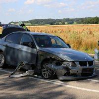 16.07.2019 VU B16 Mindelheim Höhe Lohhof Feuerwehr Rettungsdienst 5 Fahrzeuge mehrere Verletzte (4)