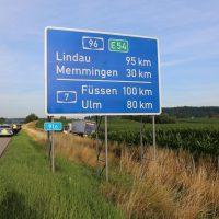 22.07.2019 Unfall LKW A96 Mindelheim Stetten (12)