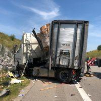 25.07.2019 Unfall LKW A96 kisslegg(11)