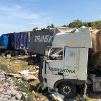 25.07.2019 Unfall LKW A96 kisslegg(14)