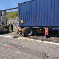 25.07.2019 Unfall LKW A96 kisslegg(6)