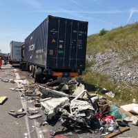 25.07.2019 Unfall LKW A96 kisslegg(8)