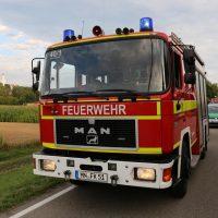 05.08.2019 Unfall Kirchheim Derndorf tödlich 22 Jahre LKW übersieht Traktor (45)