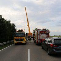 05.08.2019 Unfall Kirchheim Derndorf tödlich 22 Jahre LKW übersieht Traktor (46)