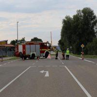 05.08.2019 Unfall Kirchheim Derndorf tödlich 22 Jahre LKW übersieht Traktor (47)