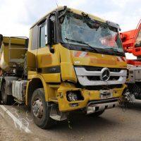 05.08.2019 Unfall Kirchheim Derndorf tödlich 22 Jahre LKW übersieht Traktor (22)