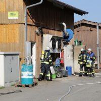 2019-08-11_Biberach_Mittelbuch_Biogasanlage_Brand_BHKW_Feuerwehr_Poeppel_0005