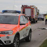2019-09-27_Memmingen_Europastrasse_Unfall_Abschleppwagen_BMW_Motorrad_FeuerwehrIMG_6215