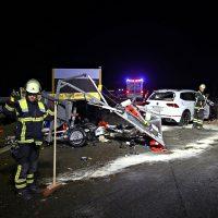2019-11-14_A96_Memmingen_Aitrach_Unfall_Sicherungsanhaenger_Pkw_FeuerwehrIMG_1949