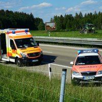 2020-05-21_A96_Neuravensburg_Weissensberg_Unfall_Schwer_Polizei_Bergung_Poeppel_DSC01708