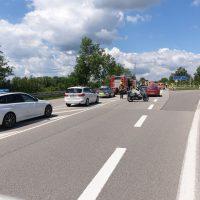 21.06.2020 Unfall B312 Frontal Feuerwehr Rettungsdienst (11)