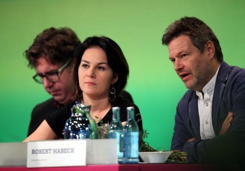 Michael Kellner, Annalena Baerbock, Robert Habeck, über dts Nachrichtenagentur