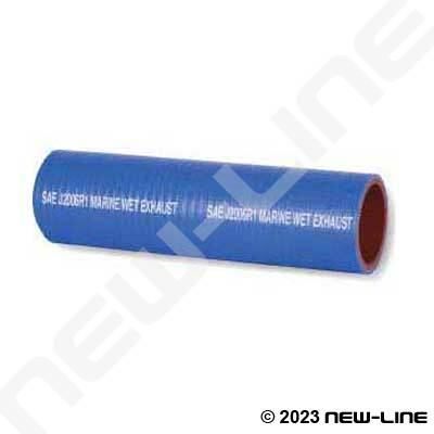 blue silicone saej2006r1 marine wet exhaust hose