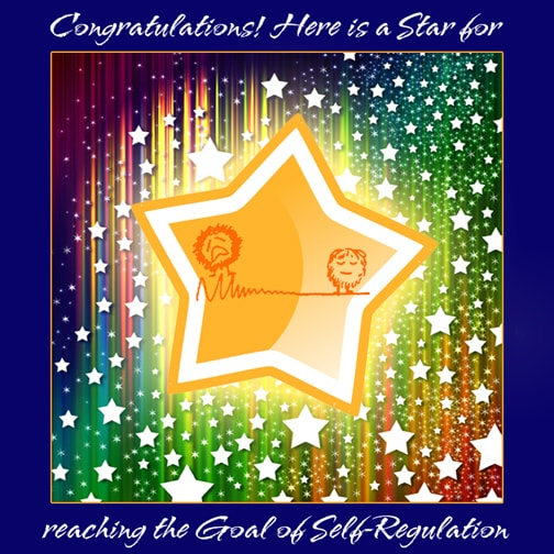 Star for Meeting Trauma Healing Goal #2 Self-Regulation