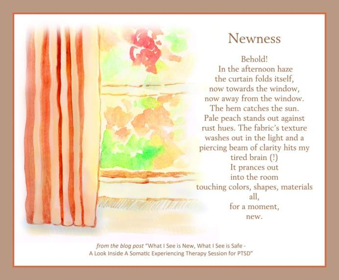 Newness - Somatic Experiencing - Learning to Handle Triggers