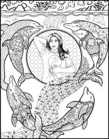 Self-Holding Step 5 Coloring Page