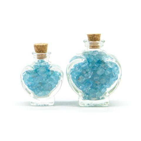 超光速粒子磷灰石瓶(爱心型 – 小瓶) 1