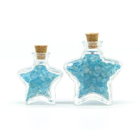 超光速粒子磷灰石瓶(五芒星型 - 小瓶) 1