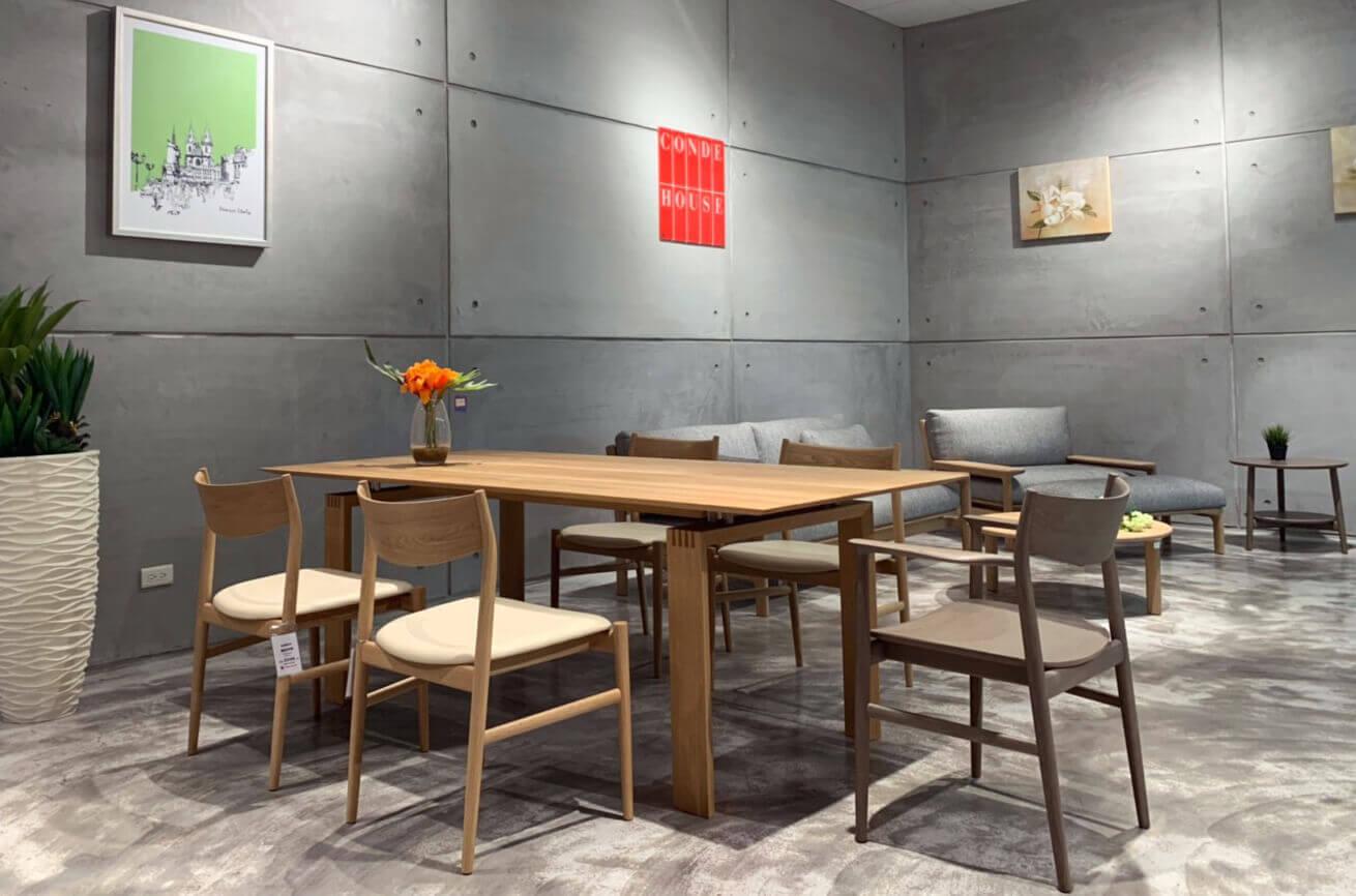 CONDE HOUSE日本家具餐桌