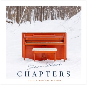 CD cover for CHAPTERS by Stephen Wallack