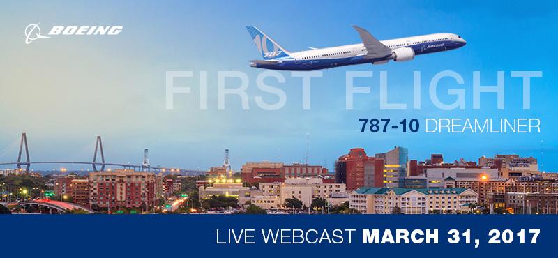 787-10 Dreamliner First Flight