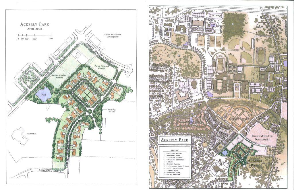 Ackerly Park Map