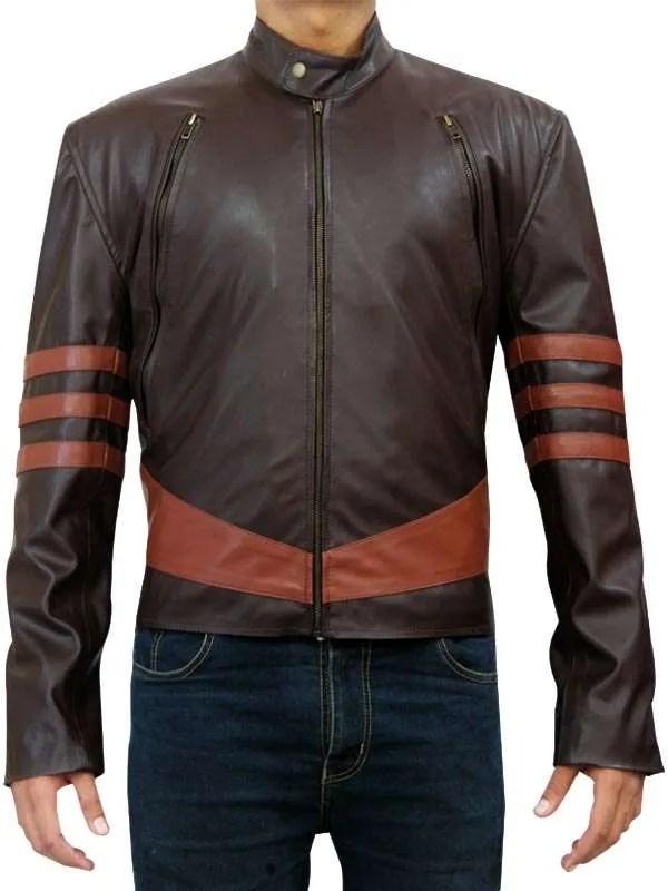 X Men Jacket Hugh Jackman Wolverine Leather Jacket