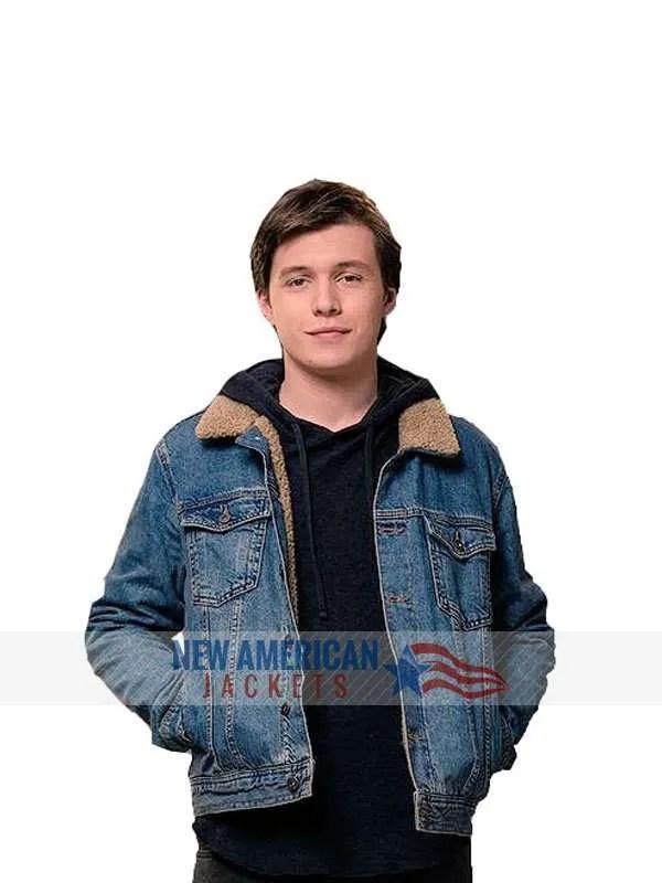 Love Simon Nick Robinson Jacket New American Jackets