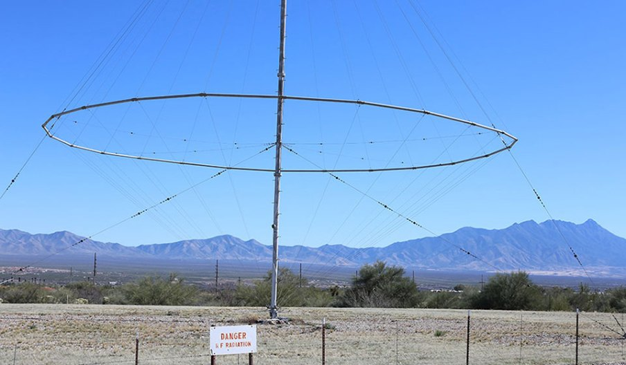 Antenna outside the Titan Missile Museum