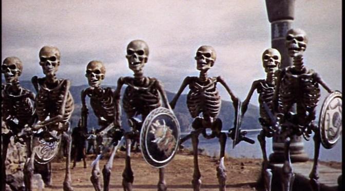 Skeleton Fight by Ray Harryhausen