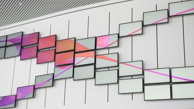 Inspiration Wall by ART+COM Studios