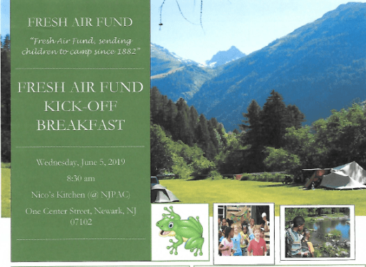 June2019 Fresh Air Fund Kickoff Breakfast Flyer