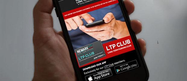 Newark International Airport Parking Mobile App