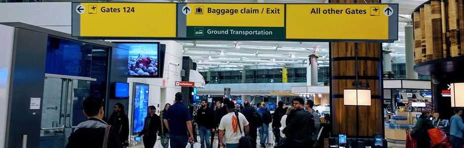 Newark Liberty International Airport Terminals
