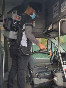 Bus Fogging Disinfection