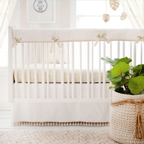 gold crib bedding set gold dust collection