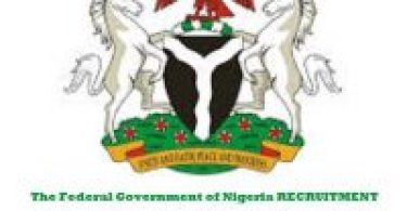 The Federal Government of Nigeria RECRUITMENT