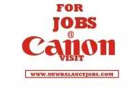 Canon jobs in Nigeria